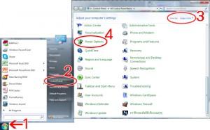 การตั้งค่า Standby หรือ Sleep Mode ด้วยระบบปฏิบัติการ Windows 7